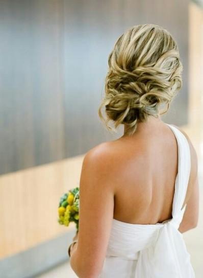 Galerry acconciature sposa raccolto morbido