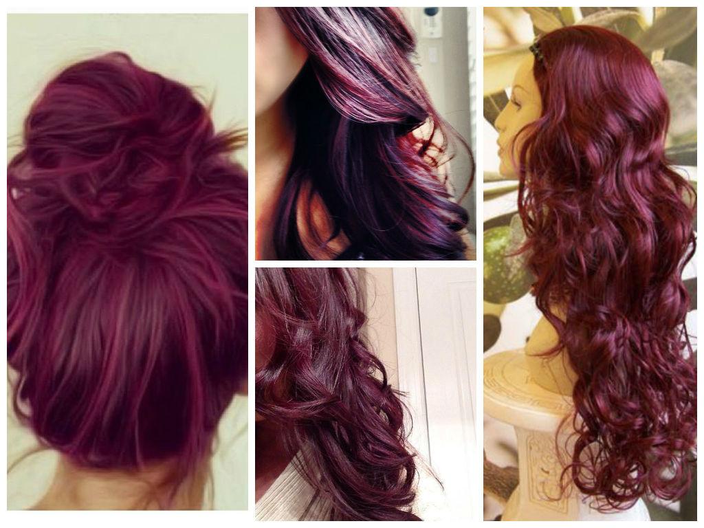 Plum Burgundy Brown Hair Color  Newhairstylesformen2014com
