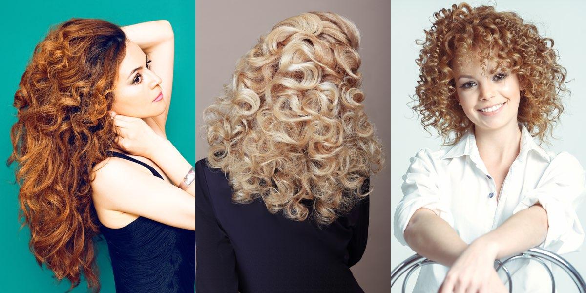 Come sistemare i capelli ricci lunghi