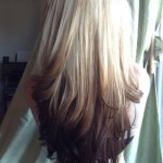 Blonde-to-Black-Reverse-Ombre-Cute-Long-Hairstyles