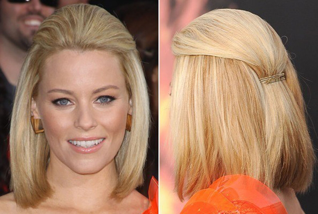 Celebrity-Haircuts-of-Elizabeth-Banks-with-Straight-Bob-Hairstyles-as-best-Hairstyles