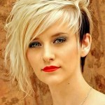 Lovely-and-Attractive-Platinum-Blonde-with-Black-Tailings-at-the-One-Side