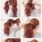 Step-by-step-Tutorial-on-the-Ponytail-Long-Hairstyles-2015