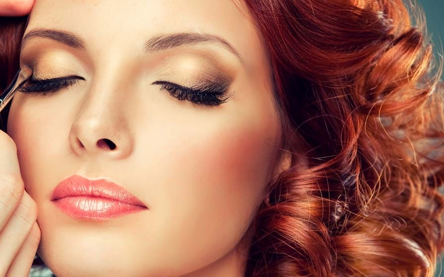 capelli rossi makeup