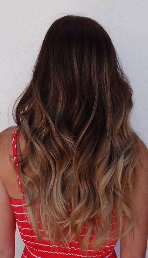 Back-View-of-Long-Ombre-Hair Back-View-of-Long-Ombre-Hair