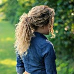 Easy-Hairstyles-for-Curly-Hair-The-Ponytail