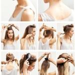 Easy-Wedding-Hairstyles-Tutorial-Chignon-Updo-for-Bridesmaids