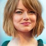 Emma-Stone-Short-Bob-Haircut-with-Bangs-for-Women