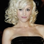 Gwen-Stefani-Blonde-Curly-Hairstyle-for-Short-Hair