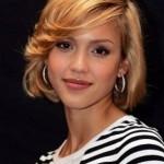 Jessica-Alba-Short-Bob-Hairstyle-with-Bangs