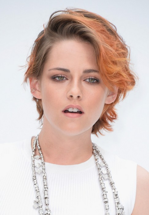 Kristen Stewart Short Wavy Hairstyle For 2015