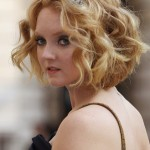 Lily-Cole-Short-Wavy-Curly-Hairstyle-for-Wedding