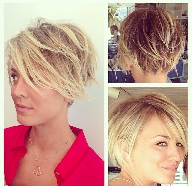 Messy-Layered-Short-Hair-Women-Short-Hairstyles-for-Summer-2015