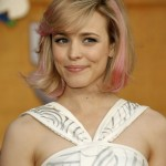 Rachel-McAdams-Short-Pink-Blonde-Bob-Hairstyle-with-Bangs