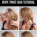 Twist-Bun-Updo-Tutorial-for-Curly-Hair
