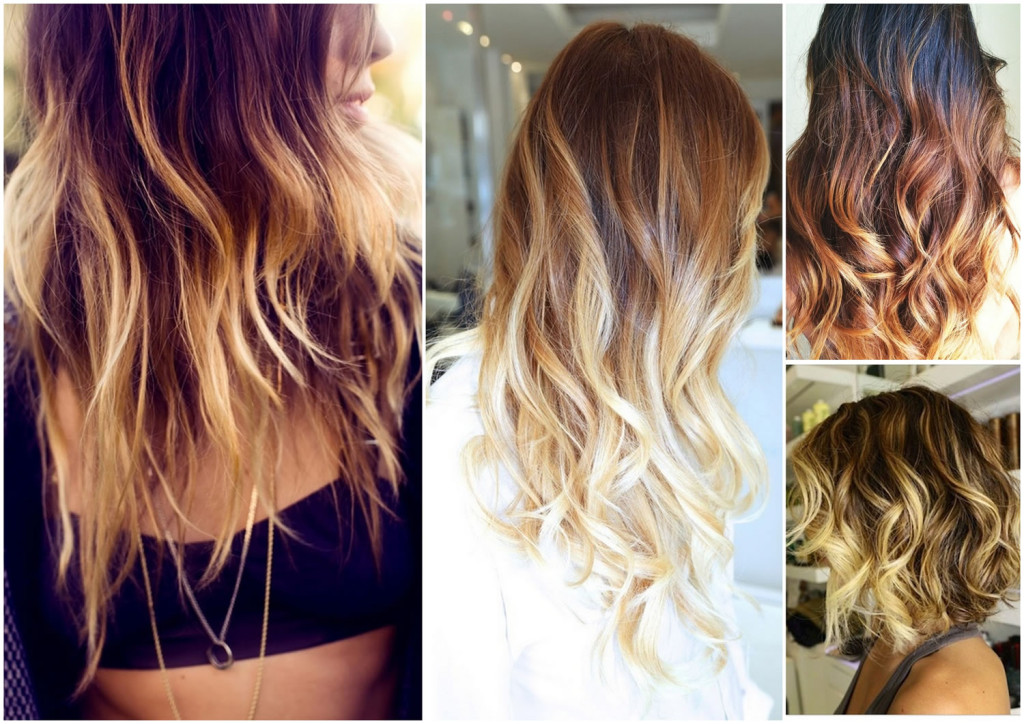 naturally curly hair ombre tumblr