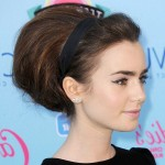 Lily_Collins_Bouffant_Hairstyle_0