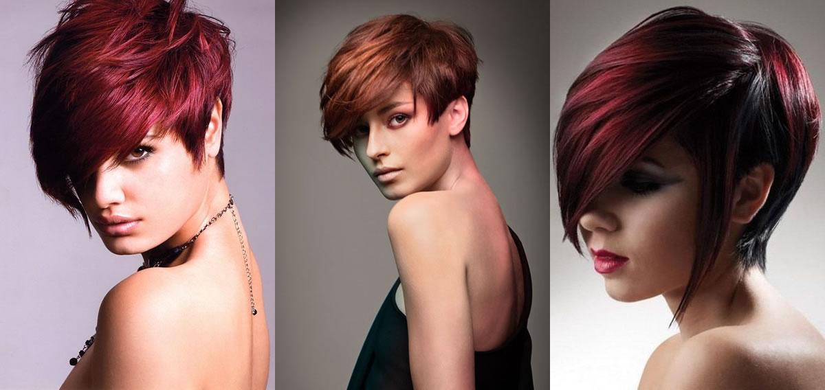 Immagini di capelli corti rossi