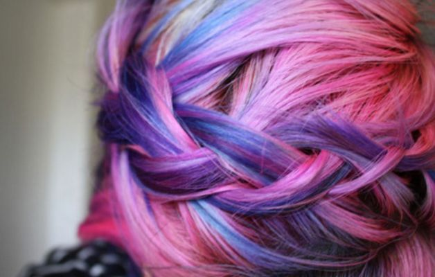 Capelli multicolor