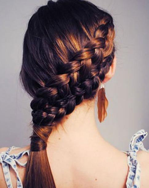 Favorito Pettinature-capelli-lunghi-raccolti-2015-Capelli-con-treccia  NC87