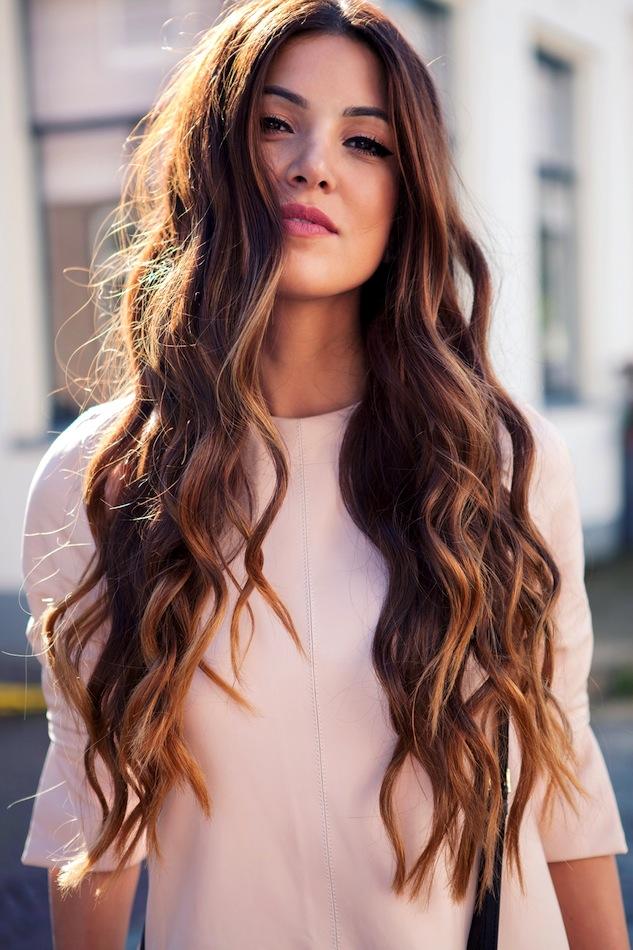 capelli lunghi fashion