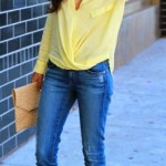 A-pale-yellow-blouse