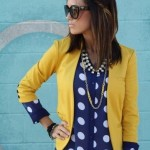 A-yellow-blazer