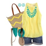 A-yellow-summer-combo