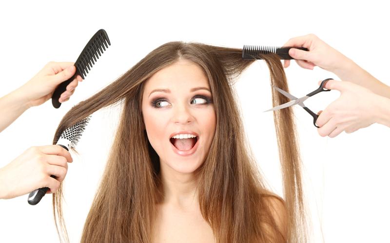Image De Salom De Coiffeur : Come pettinare i capelli lunghi d estate