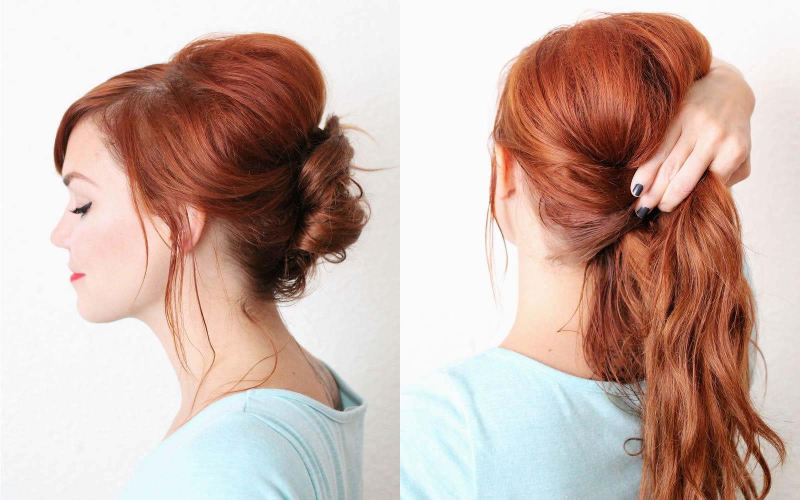 Tutorial taglio capelli ciuffo