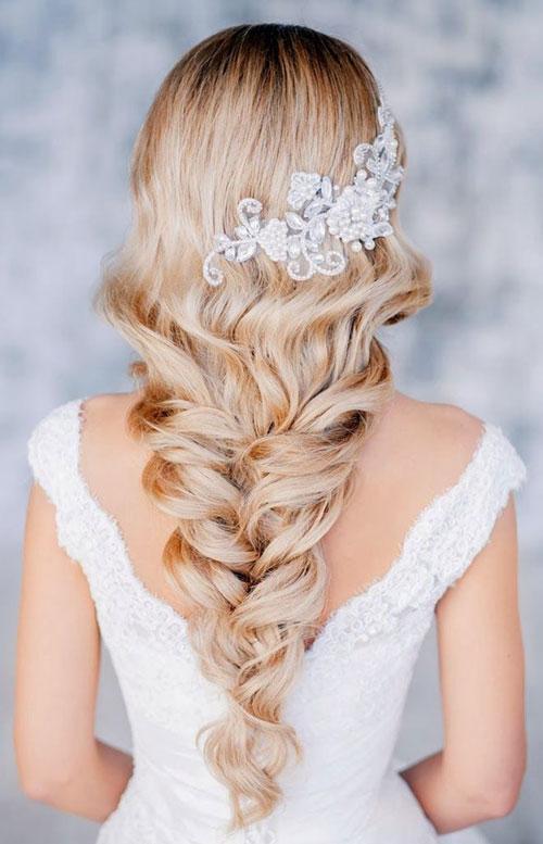 Fabuleux Acconciature da sposa: i migliori tagli di capelli corti e lunghi IW65