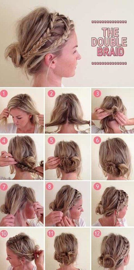 Eccezionale Casual-Updo-Hair-Style-Tutorial - CapelliStyle.it CI05