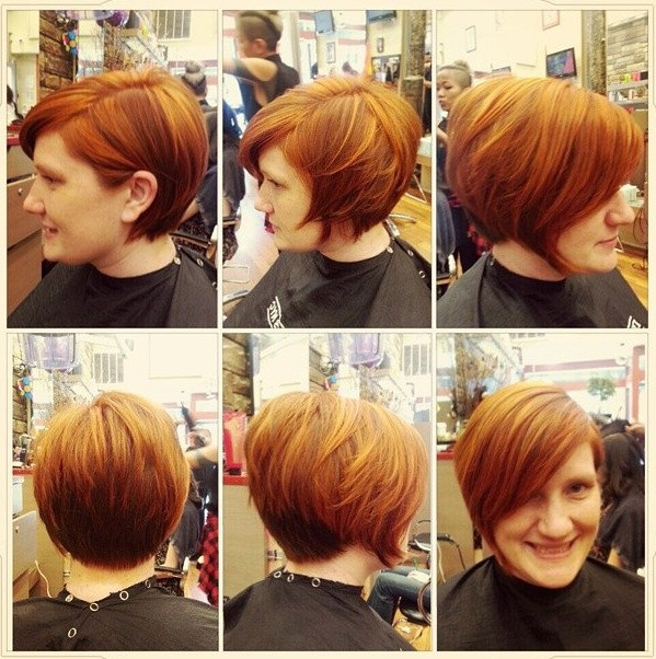 Cool-Short-Brown-Hairstyle-with-Bangs-for-Thick-Hair