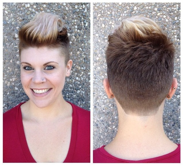 Cool-Short-Pull-Back-Hairstyle-for-Women