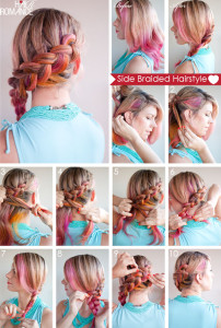 tagli di capelli con trecce