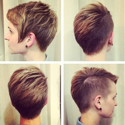 Layered-Short-Haircut-Shaved-Hair-Styles-Ideas