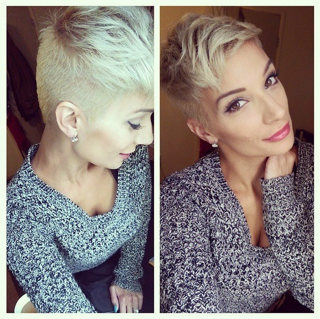 Messy-Short-Hairstyle-for-Women