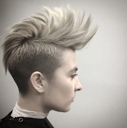 Spiked-Short-Hair-Style