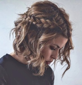 Trecce capelli medi
