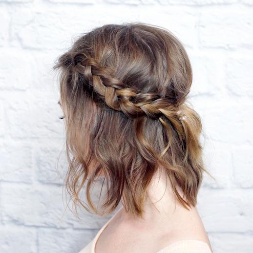 Conosciuto Trecce capelli corti e lunghi: Foto e video da condividere! HK46