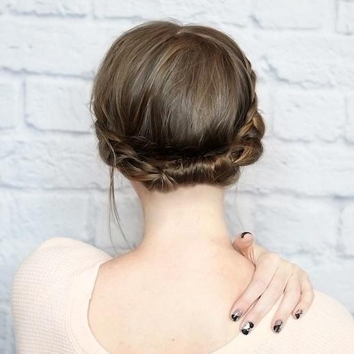 tagli di capelli corti con trecce