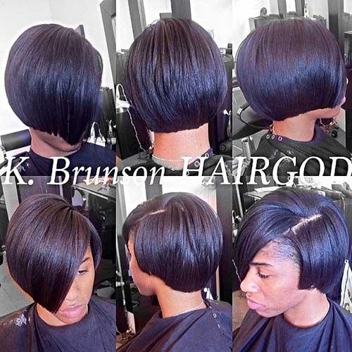 Taglio bob per ragazze di colore Blunt-Bob-Black-Hair1