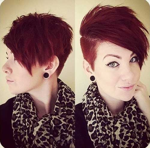 Cute-Short-Red-Pixie-Cuts-for-Girls