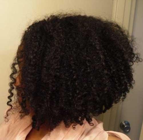 Taglio bob per ragazze di colore Textured-Hair-Bob