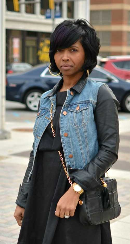 Taglio bob per ragazze di colore Thick-Black-Bob-Hair1