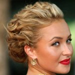 Tight-Curly-Updo