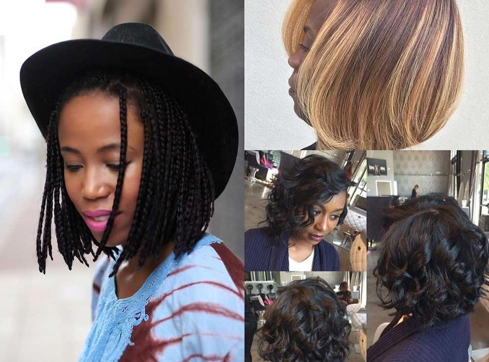 Donne di colore capelli