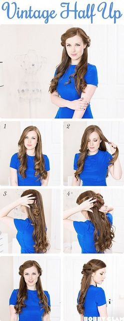15-beautiful-half-up-half-down-wedding-hairstyles11 15-beautiful-half-up-half-down-wedding-hairstyles11
