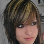 Dark-Emo-Hairstyles-with-Highlights