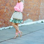 Pink-Sweater-and-Skirt